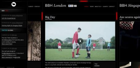 The new BBH website